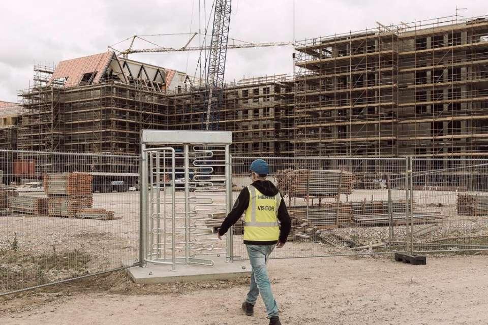 Clôture et barrière de chantierCaen, Le Havre, Alençon, Calvados, Normandie | Closystem