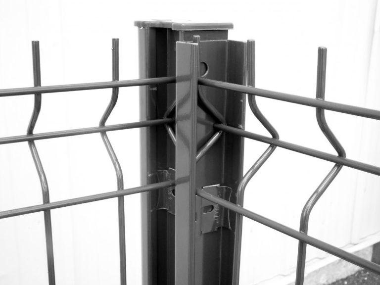 Poteau pour clôture métallique Caen, Le Havre, Alençon, Calvados, Normandie | Closystem