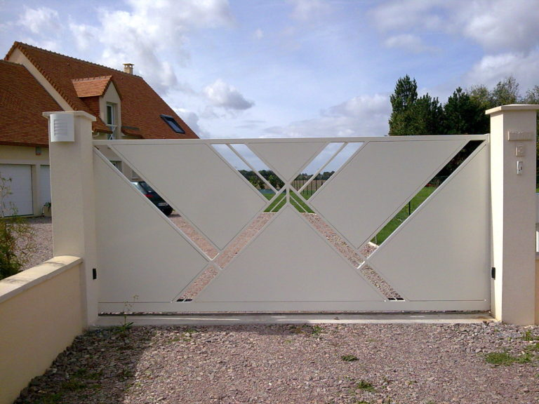 Portails métalliques Caen, Le Havre, Alençon, Calvados, Normandie | Closystem