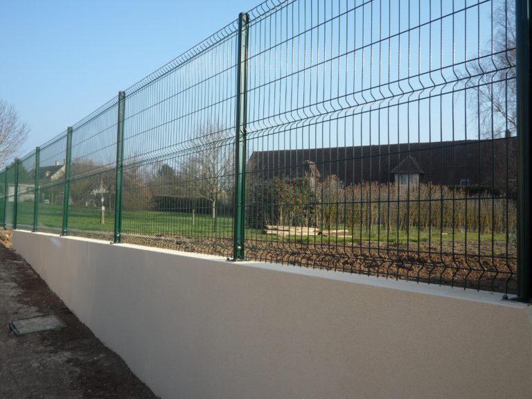 Clôture métallique rigide à Caen, Le Havre, Alençon, Calvados, Normandie | Closystem