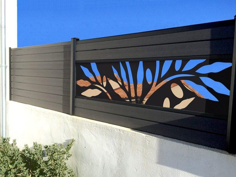 Panneau occultant en bois et composite | Closystem
