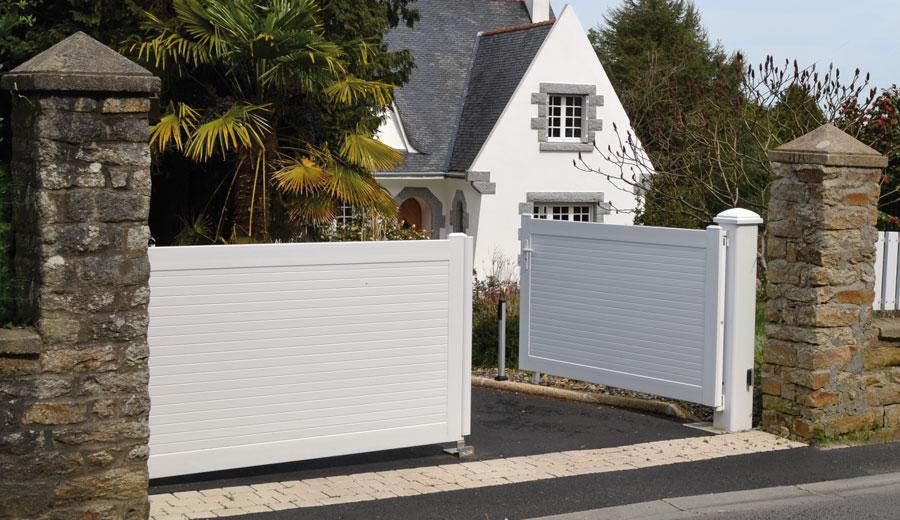 Portails en PVC Caen, Le Havre, Alençon, Calvados, Normandie | Closystem
