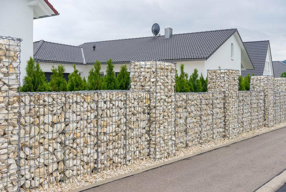 Mur en Gabion Caen, Le Havre, Alençon, Calvados, Normandie | Closystem