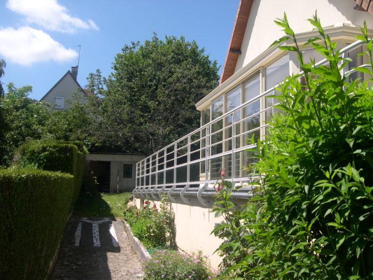 Vente et installation de Garde-corps métallique à Caen | Closystem