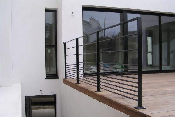 garde corps m tallique closystem. Black Bedroom Furniture Sets. Home Design Ideas
