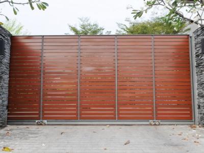 Aménagement de terrasse à Caen dans le Calvados, bois, pierre, terrasse de piscine | Closystem